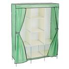 Шкаф для одежды 130х45х175 см, мятный