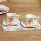 """Набор чайный на 2 персоны """"Вдохновение"""": 2 кружки 180 мл, 2 блюдца, цвета МИКС"""