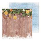 Фотофон двусторонний «Пряные мандарины», 45 х 45 см, картон, 100 г/м