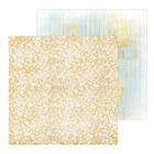 Фотофон двусторонний «Блестящее золото», картон 100 г/м