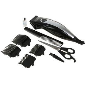 Машинка для стрижки волос ENERGY EN-720, 13 Вт, 4 насадки Ош