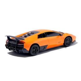 """Машина радиоуправляемая """"Lamborghini Murcielago"""", масштаб 1:24, работает от батареек, свет, mz 27018"""