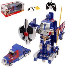 """Робот-трансформер радиоуправляемый """"Автобот"""", с аккумулятором, масштаб 1:14, MZ 2335P"""