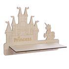 "Декоративная полочка ""Замок принцессы"" (деревянная заготовка), 30 х 22 х 10 см"