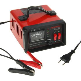 Зарядное устройство АКБ Autovirazh AV-161004, 6/12 В, 5-50 Ач, до 5 А