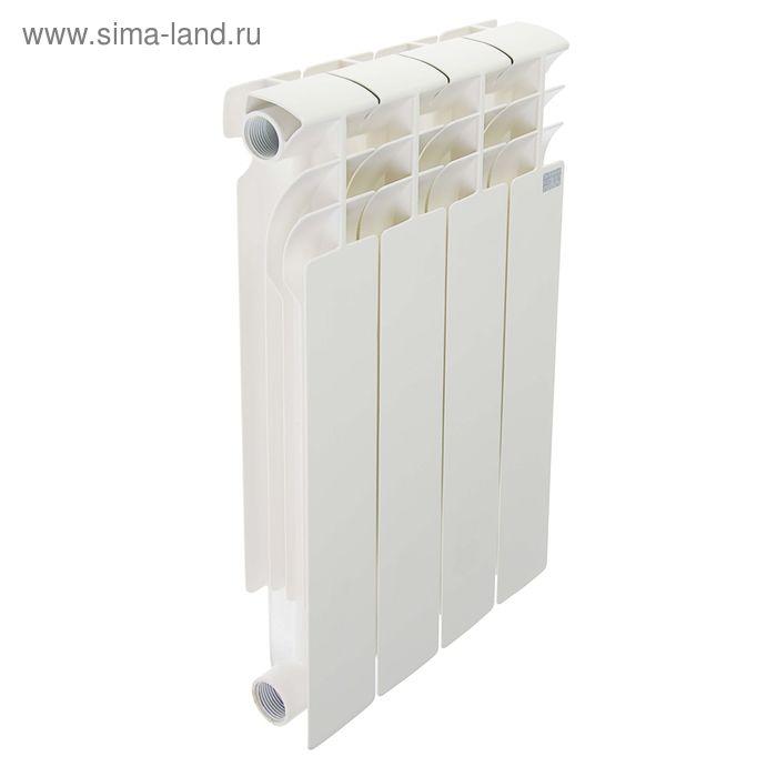 Радиатор STI, биметаллический, 500/80, 4 секции