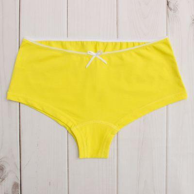 Трусы для девочки, рост 176 см (80), цвет жёлтый 344-16