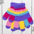 """Перчатки детские Collorista """"Пальчики"""", размер 18, цвет фиолетовый"""