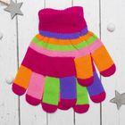 """Перчатки детские Collorista """"Пальчики"""", размер 22, цвет розовый"""