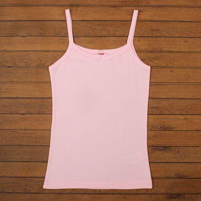 Майка для девочки, рост 152-158 см, цвет светло-розовый