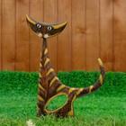 "Сувенир дерево ""Лунный кот"" 45х30х5 см"