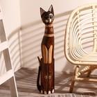"""Сувенир дерево """"Кошка ажурная. Восточная сказка"""" 80х15х5,5 см"""