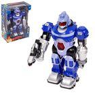 """Робот """"Бласт"""", работает от батареек, световые и звуковые эффекты"""
