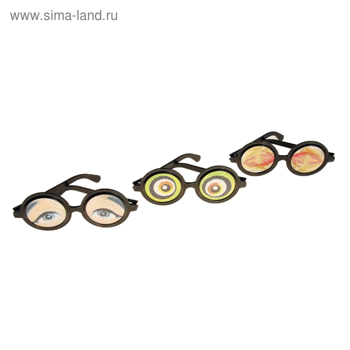"""Очки """"Большие глазки"""", цвета МИКС"""