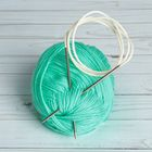 Спицы для вязания, С-371 МПИ, круговые, d=3мм, цвет серебристый