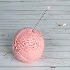Спицы для вязания, С-375 МПИ, прямые, d=2мм, 33см, цвет серебристый