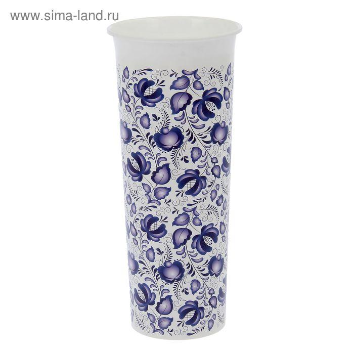 Ваза для цветов Гжель D 112 mm