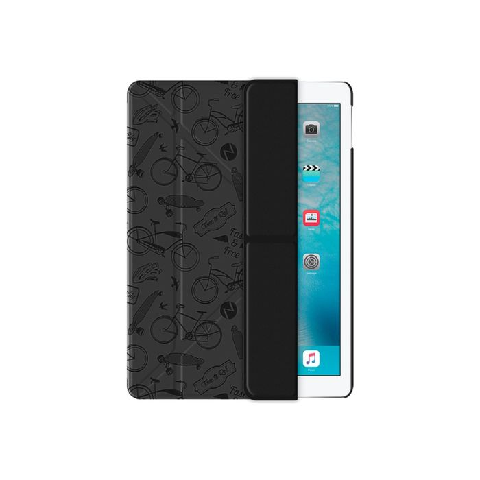 Чехол Deppa (88026) iPad Pro, Wallet Onzo c тиснением, темно-серый