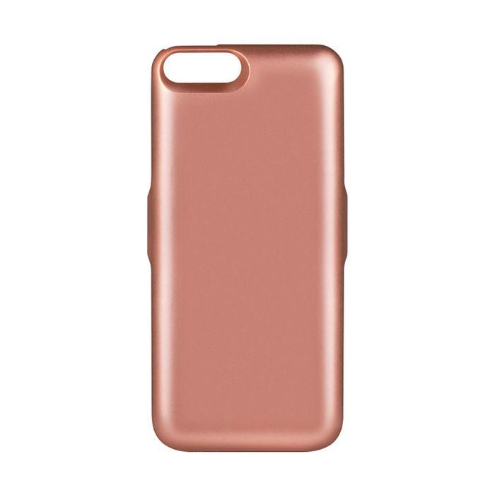 Аккумулятор-чехол DF iBattery-18 iPhone 6+/6S+/7+, розовое золото 4200 mAh