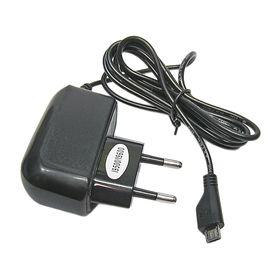 Зарядное устройство Axtel, micro USB 700-1200 mA, черное (Samsung i9500)