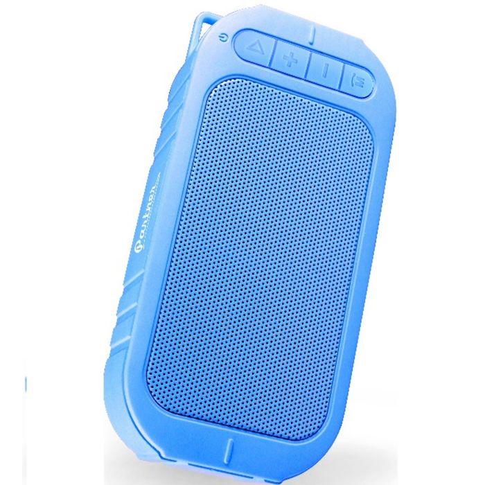 """Портативная акустика  Partner (034118) """"BeatBox"""", Bluetooth, microSD, AUX 3,5, синяя"""