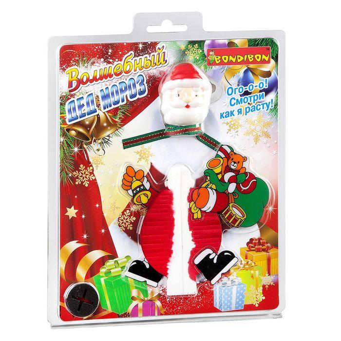 """Набор для выращивания кристаллов """"Волшебный Дед Мороз"""""""