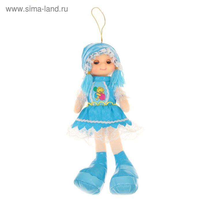 "Мягкая игрушка ""Кукла"" шапочка и юбка из тафты, цвета МИКС"
