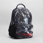Сумка-рюкзак молод 3989 Арриго 41*17*30, 1 отд на молнии, н/карман, красный седан