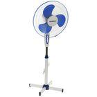 Вентилятор Centek CT-5004 BLUE, напольный, 45 Вт, 3 режима, синий