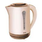 Чайник электрический Mystery MEK-1638, 1800 Вт, 2.5 л, коричневый