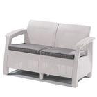 Диван Love Seat, цвет белый