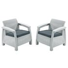 Комплект мебели Duo, цвет белый