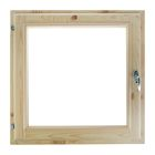Окно (хвоя) 50х50см, двойное стекло, уплотнитель