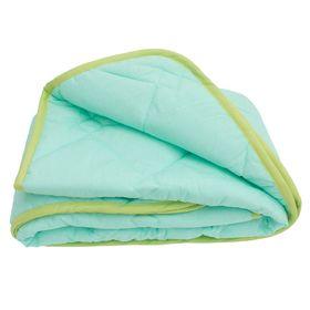 Одеяло облегченное 110*140 бязь 'Лелея' бамбуковое волокно 120гм, сумка, МИРОМАКС Ош