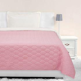 Покрывало Этель Ультрастеп эконом 1,5 сп. 150х215 см, цвет розовый, 65 г/м²