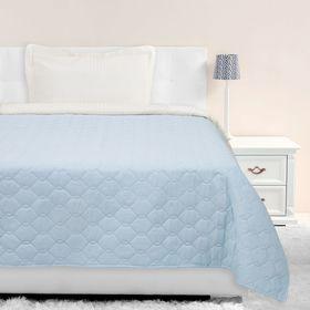 Покрывало Этель Ультрастеп эконом 1,5 сп. 150х215 см, цвет голубой 65 г/м²