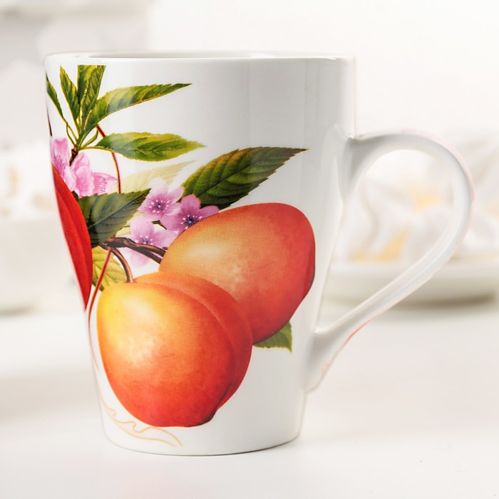 "Кружка 360 мл ""Цветущие абрикосы"""