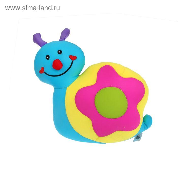 """Мягкая игрушка-антистресс """"Улитка-цветочек"""", цвета МИКС"""