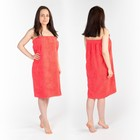 Килт(юбка) жен. махр. арт:КМ-8, 80х150+-2 коралл, Хл, 300г/м