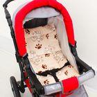Набор для детской коляски, 2 предмета ( подушка-40х40, матрас-40х70), цвет бежевый 22102