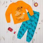 Пижама для мальчика, рост 146 см, цвет оранжевый CAJ 5298