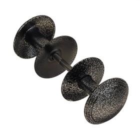 Ручка-кнопка РДК -11, цвет античное серебро