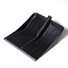 Ковш лопаты пластиковый, 428 х 450 мм, с оцинкованной планкой, 'Тульская' Ош