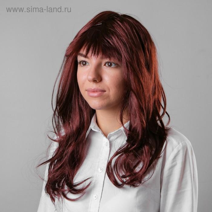 "Карнавальный парик ""Натуральная шатенка"", 120 г"