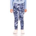 """Рейтузы для девочек """"Страна чудес"""", рост 86 см (48), цвет голубой, принт цветы ДРЛ894804н"""