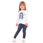 """Рейтузы для девочек """"Страна чудес"""", рост 86 см (48), цвет тёмно-синий ДРЛ795437"""