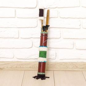 Декоративное оружие 'Массаи' лук и колчан дерево 60 см МИКС Ош