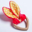 Развивающая игрушка-грызунок «Для маленьких принцесс», форма сердце