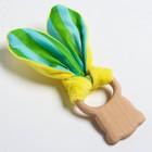 Развивающая игрушка-грызунок «Для малышей», форма мишка