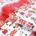 Бумага упаковочная глянцевая «А в городе зима», 70 х 100 см